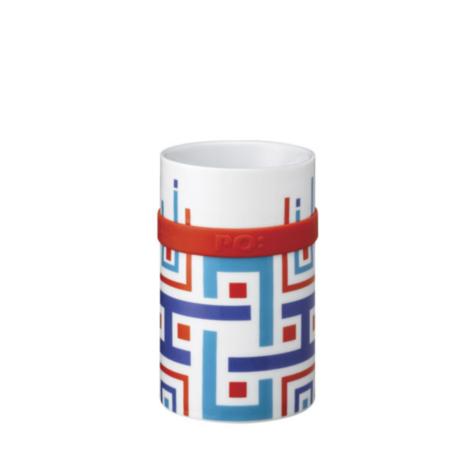 Ring Mug - Blue Geometric (M / L)