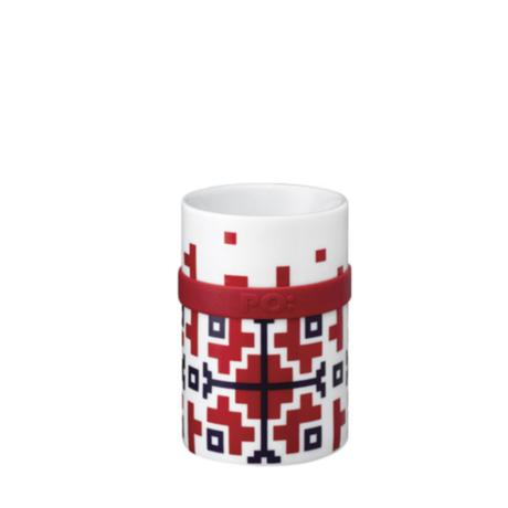 Ring Mug - Red Folkloric (M / L)