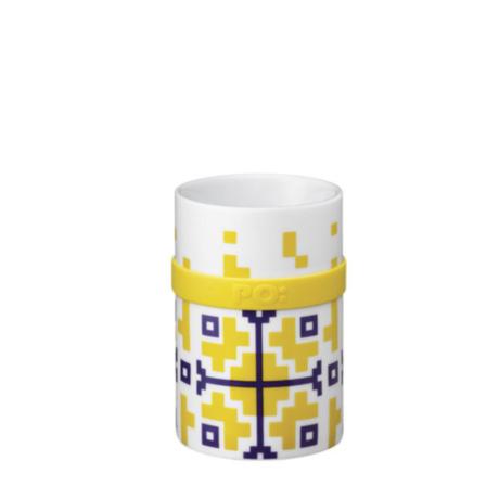 Ring Mug - Yellow Folkloric (M / L)
