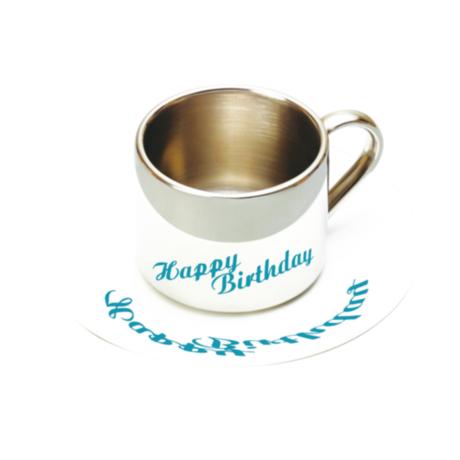 Anamorphic Cup (Happy Birthday)
