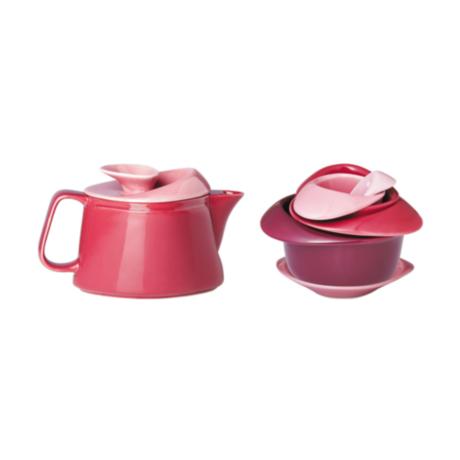Rose Teapot Set