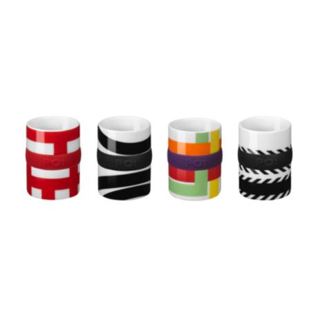 Ring Espresso Cup (4 Decals/Set)